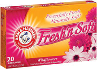 ARM & HAMMER™ Sheets Fresh'n Soft Wildflowers Fabric Softener