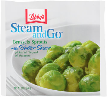 Libby's® Steam & Go® Brussels Sprouts with Butter Sauce 12 oz.