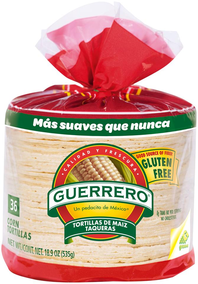 Guerrero® White Corn Tortillas 36 ct Bag