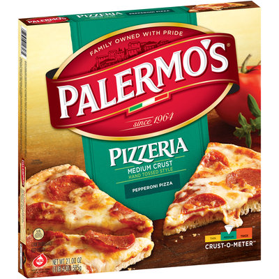 Palermo's® Pizzeria Medium Crust Hand Tossed Style Pepperoni Pizza 21.00 oz. Box