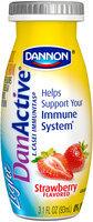 DanActive Light Strawberry/Mixed Berry Family Value Pack 3.1 Fl Oz DanActive Light Probiotic Dairy Drink 8 Ct Bottles