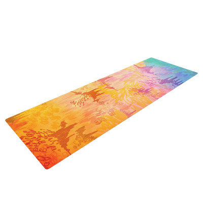 Kess Inhouse Sky Risers II by Ebi Emporium Yoga Mat