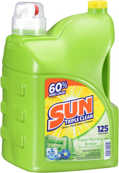Sun® Fresh Morning Breeze Laundry Detergent 125 Loads 188 Fl Oz Jug