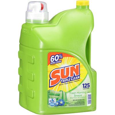 Sun® Fresh Morning Breeze Laundry Detergent 125 Loads 188 Fl Oz Jug