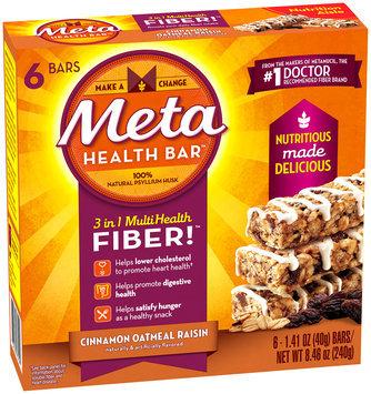 Not Applicable Meta Health Bar 6ct Cinnamon Oatmeal Raisin