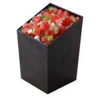 Restaurantware Incline 3 oz. Square Cup (100 Count) Color: Black