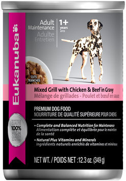 Eukanuba Adult Maintenance Mixed Grill with Chicken & Beef Dog Food 12.3 oz. Can