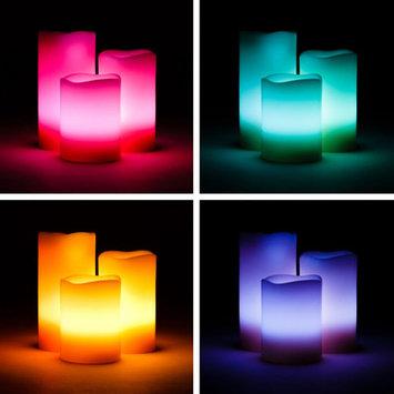 Koyal Wholesale 3 Piece Color Changing Candle Set