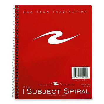 Roaring Spring Paper One Subject Notebook, Wirebound, 8
