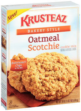 Krusteaz® Bakery Style Oatmeal Scotchie Cookie Mix 18 oz. Box