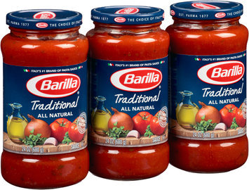 Barilla® All Natural Traditional Pasta Sauce 3-24 oz. Jars