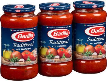 Barilla® All Natural Traditional Pasta Sauce 3-24 oz. Jars