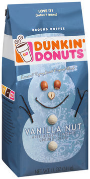 dunkin' donuts® vanilla nut ground coffee