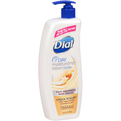 Dial® 7 Day Greek Yogurt Moisturizing Lotion 26.25 fl.oz. Bottle