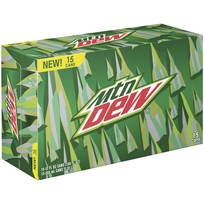 Mountain Dew® 15 Pack 12 fl. oz. Cans