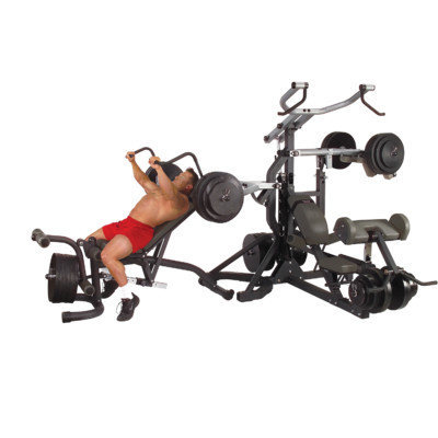 Body-Solid Freeweight Leverage Commercial Gym Package