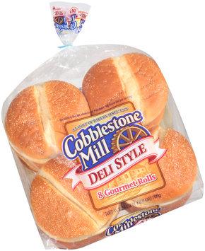 Cobblestone Mill® Deli Style Gourmet Rolls 8 ct Bag