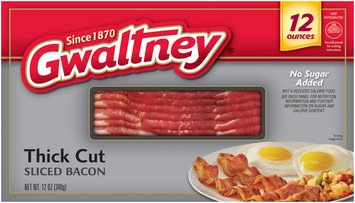 Gwaltney® Thick Cut Sliced Bacon