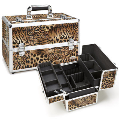 Seya Tiger Leopard Professional Makeup Case