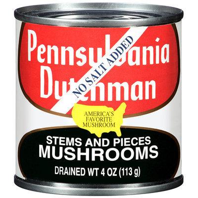 Pennsylvania Dutchman Mushrooms Stems and Pieces No Salt Added 4 oz. Can