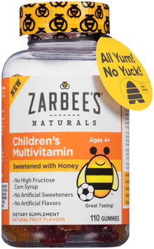 Zarbee's® Naturals Children's Multivitamin 110 ct Bottle