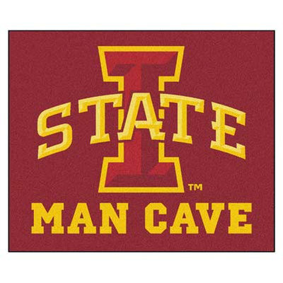 Sls Mats Collegiate Iowa State University Man Cave Tailgater Outdoor Area Rug