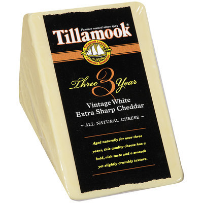 Tillamook® Vintage White Extra Sharp Cheddar Cheese Wedge