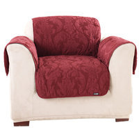 Sure Fit, Inc. Sure Fit Matelasse Chair Throw for Pets Chili