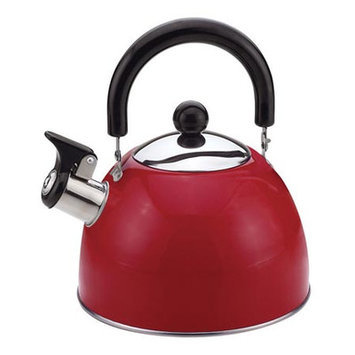 Culinary Edge 50426 Tea Kettle 2 Quart Red HHK0KXZTE-1614