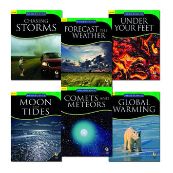 Creative Teaching Press CTP5753 Earth And Space Science Variety Pk- 6 Books