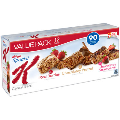 Special K® Kellogg's Red Berries/Chocolatey Pretzel/Chocolatey Strawberry Cereal Bars Variety Pack