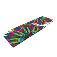 Kess Inhouse Bright by Alison Coxon Yoga Mat
