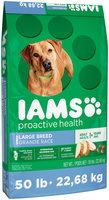 Iams Proactive Health Adult Large Breed Dog Food 50 lbs. Bag