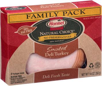 Hormel® Natural Choice® Smoked Sliced Deli Turkey