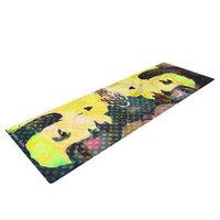 Kess Inhouse Kimono Girl by Suzanne Carter Yoga Mat