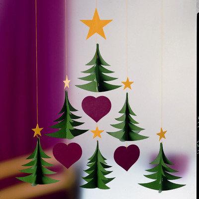 Flensted Mobiles Six Christmas Tree Mobile
