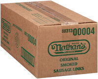 Nathan's Famous® Original Smoked Sausage 6 ct Package