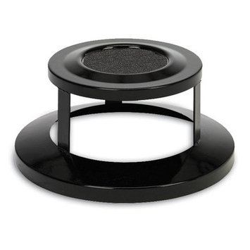 Anova Bonnet Top with Ashtray for 55 Gallon Receptacles Color: Green