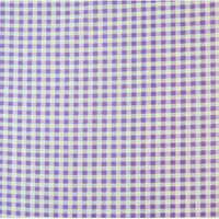 Stwd Gingham Check Crib/Toddler Fitted Sheet Color: Lavender