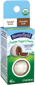 Stonyfield® Coconut-Chocolate Organic Frozen Yogurt Pearls