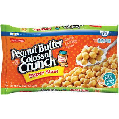 Malt-O-Meal® Peanut Butter Colossal Crunch® Cereal 36 oz. ZIP-PAK