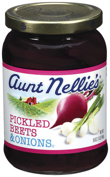 Aunt Nellie's Pickled Beets & Onions 16 Oz Jar