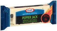 Kraft Pepper Jack Cheese 8 oz. Chunk