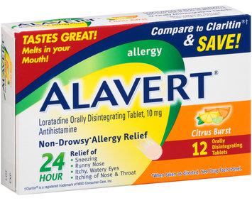 Alavert® Citrus Burst 24-Hour Non-Drowsy Allergy Relief Tablets