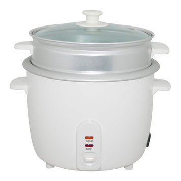 Wee's Beyond Electric Rice Cooker with Steamer Cup Size: 8 Cups