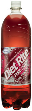 Diet Rite Red Raspberry Diet Soda 1.5 L Plastic Bottle