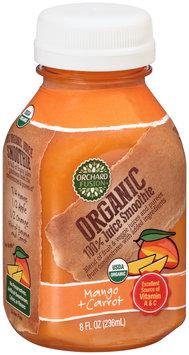 Orchard Fusion™ Organic Mango + Carrot 100% Juice Smoothie 8 fl. oz. Bottle