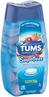 Tums® Smoothies™ Berry Fusion Extra Strength 750 Antacid/Calcium Supplement Tablets 140 ct Bottle