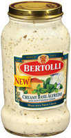 Bertolli® Creamy Basil Alfredo Sauce 15 oz. Jar