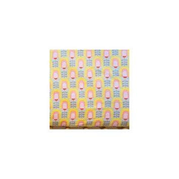 Simple Grace Design Tulip Organic Crib Sheet